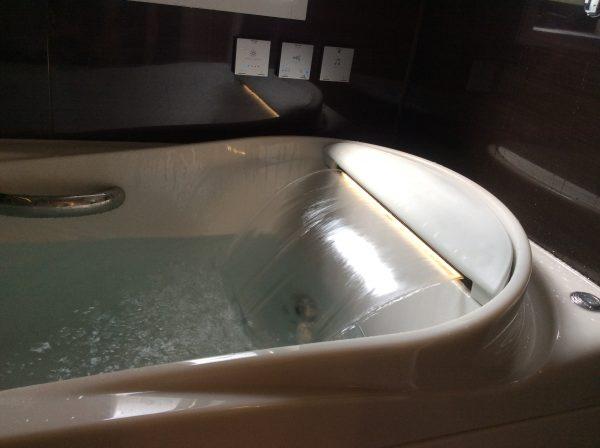 自宅で温泉気分を味わえるバスルーム