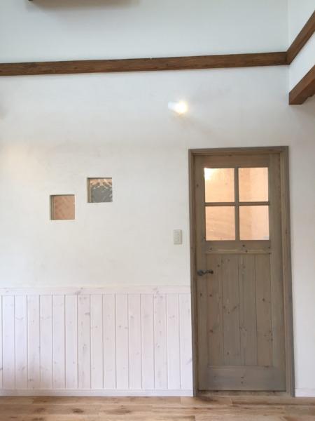 珪藻土の塗り壁でいつでも快適