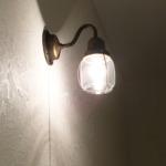 クラシカルな照明