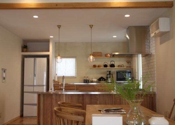 キッチン正面