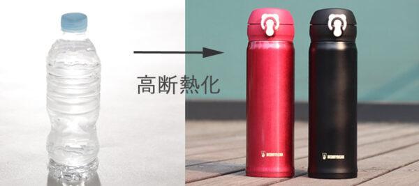 高断熱化例え図