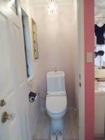 シンプルすぎないかわいいトイレに