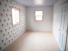 ブルーで統一された男の子の部屋