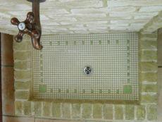 入口横の手洗い場
