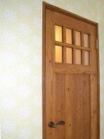 国産木製建具洗面室