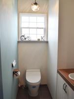 造作洗面台付きトイレ