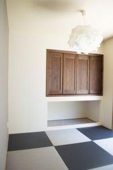 グレー畳の和室