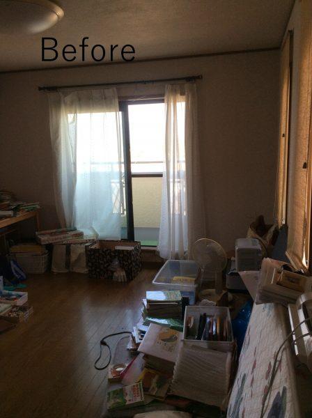 主寝室をシアタールームにビフォー写真