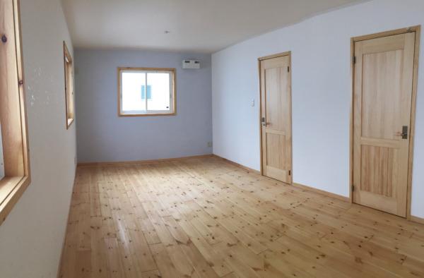 ブルーの壁紙は男の子のお部屋
