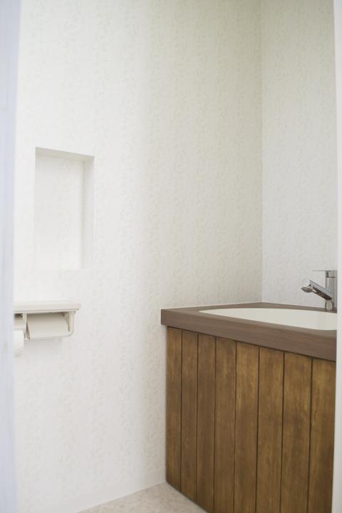 トイレ造作洗面台