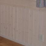 オスモ塗装による腰壁
