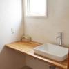ナチュラルなテイストにピッタリな造作洗面台