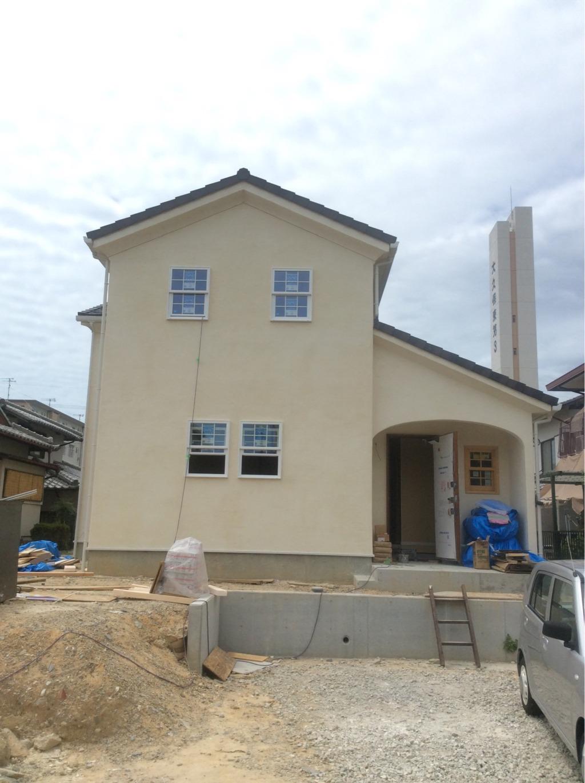 注文住宅 新築工事 外壁