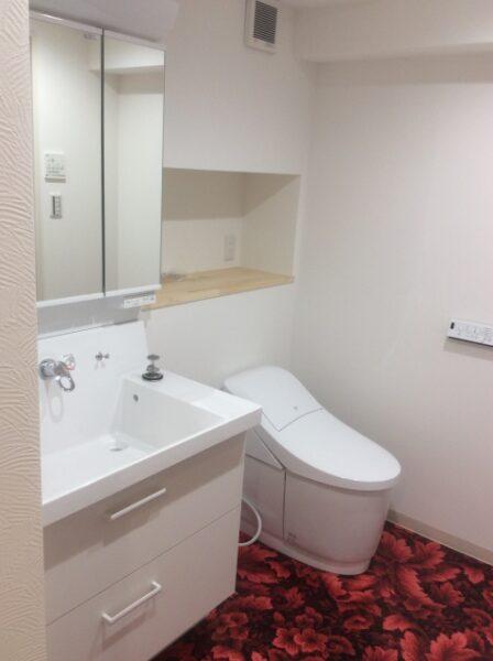 リフォーム 神戸 工務店 トイレ 洗面