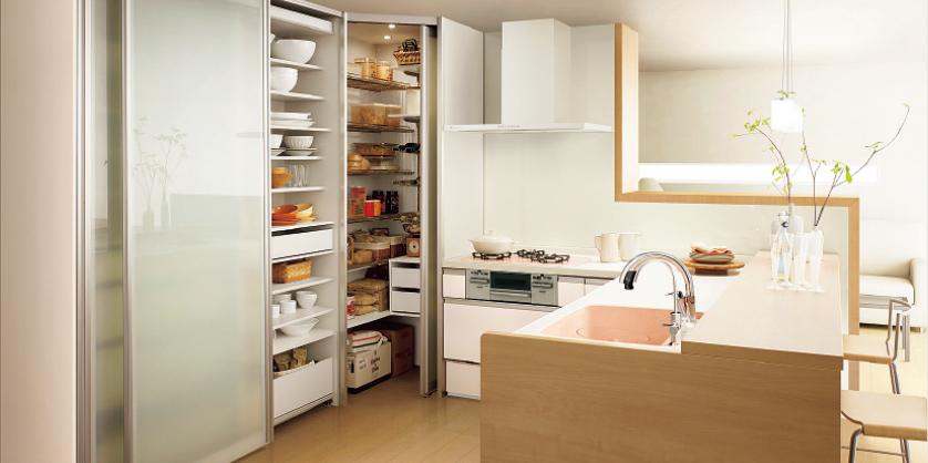 L型キッチンンリフォーム例