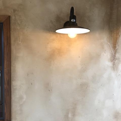 外壁エイジング加工