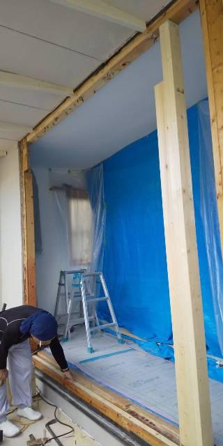 窓拡張リフォーム工事