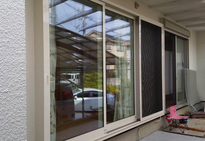 窓拡張外壁リフォーム工事