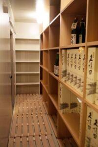 お酒貯蔵冷蔵庫