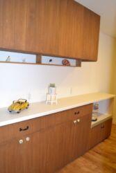 キッチン背面作業棚