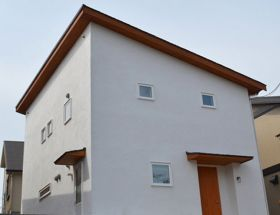 新築ナチュラルシンプルな家