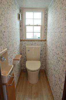 トイレ かわいい スヌーピー壁紙